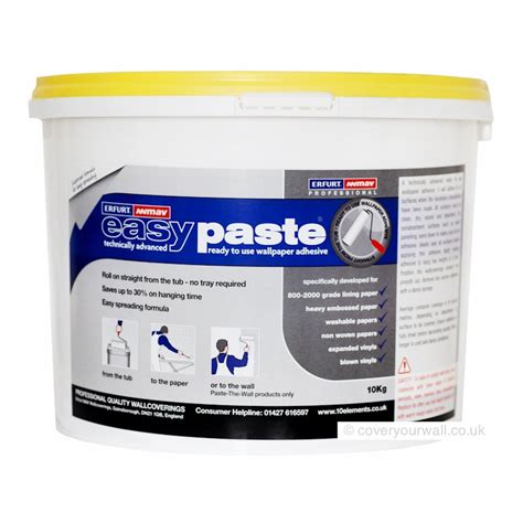 How To Make Paper Paste At Home - wallpaper paste ready mix adhesive lining paper paste