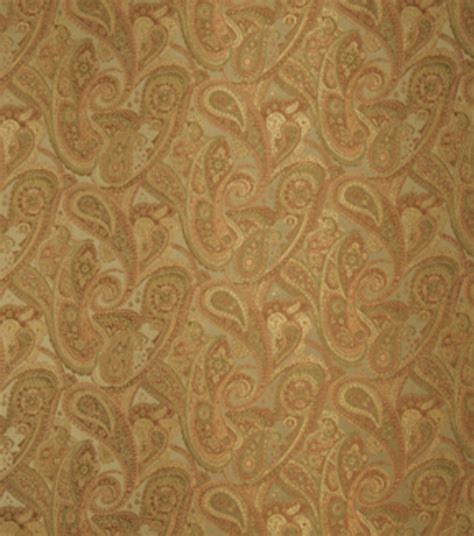 home decor print fabric eaton square sonoma adobe paisley