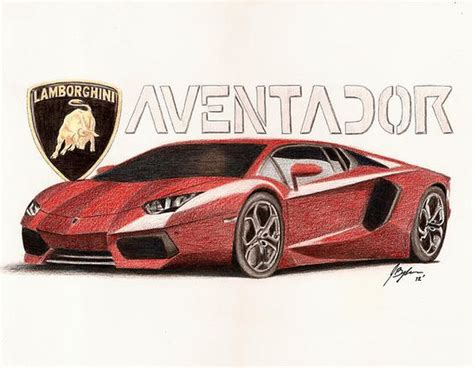 Lamborghini Aventador Drawing The World S Catalog Of Ideas