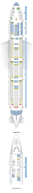klm stoelindeling 747 400 seatguru seat map klm boeing 747 400 744 new business