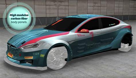 Tesla 100 Electric Tesla Rennserie Electric Gt Das Leisten Die Elektroauto