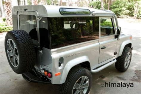 land rover himalaya purchase new 1997 land rover defender 90 himalaya limited