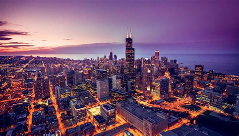 light company in chicago city of chicago contracts with ameresco on smart