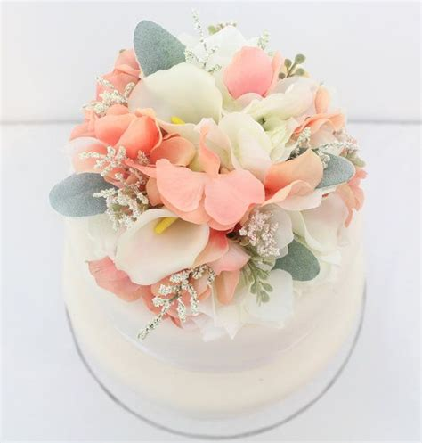 Cake Flower Silk Wedding by 186 Best It Tops The Cake Silk Floral Wedding Cake Toppers