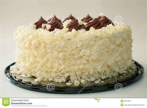 Fancy cake stock image. Image of white, gray, vanilla