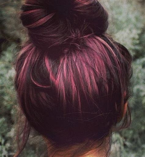 chocolate plum hair color everything you need to know about plum hair dailybeautyhack