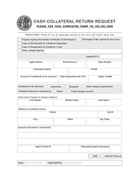 bail bond receipt template best photos of refund forms petty request form