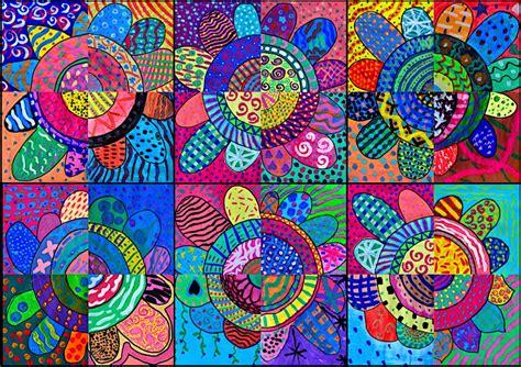 arte fiori dipingiamo fiori con le texture