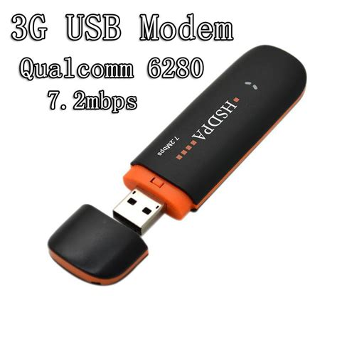 Modem Usb Wlan 7 2mbps qualcomm 6280 usb modem wireless network modem 3g wifi dongle adapter support hsdpa
