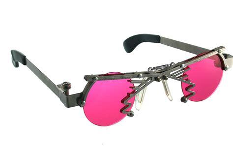 unique glasses round goth steunk stainless steel sunglasses unusual