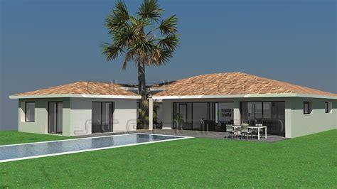 plan maison avec patio central construire sa maison atelier scenario maisons d
