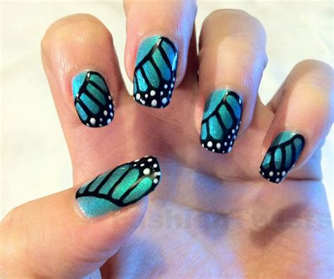 easy nail art butterfly 8 creative butterfly nail art designs 2018 uk london beep