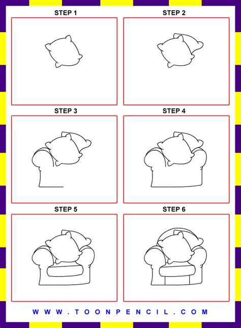 How To Draw A Chair Step By Step free coloring pages of mole