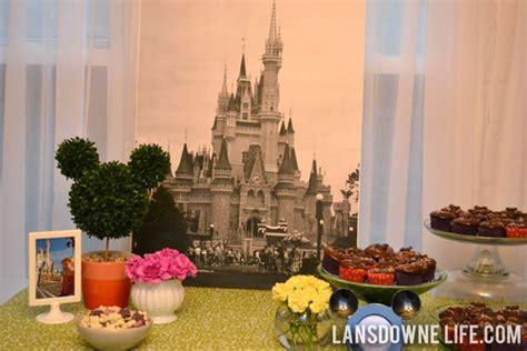 Disney World Decorations - disney world magic kingdom birthday decorations