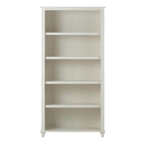 White Open Bookcase by Home Decorators Collection Oxford 24 In 6 Shelf Open