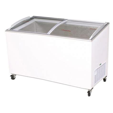 Sliding Curved Glass Freezer 520 L bromic 427l chest freezer with curved sliding glass lids cf0500atcg apex