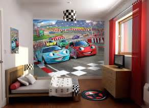 Boys Wall Murals Car Racer Wallpaper Mural Wall Murals Ireland