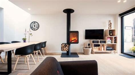 efficacite chauffage cheminee design poele  bois design