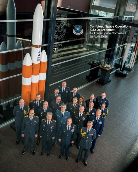 multinational statement  combined space operations