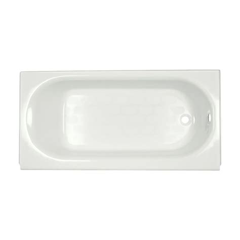 american standard cast iron bathtub american standard princeton 5 ft cast iron right drain