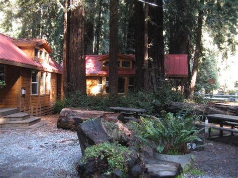 view of the cabin picture of big sur cground cabins