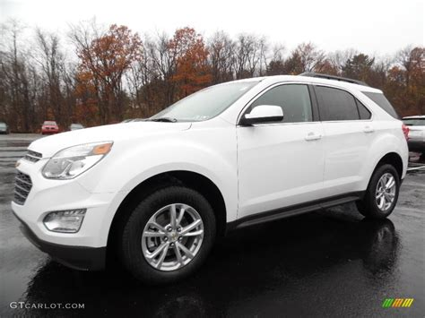 2016 Summit White Chevrolet Equinox Lt Awd 108506169