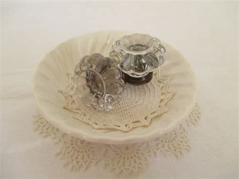 Shabby Chic Door Knobs by Vintage Glass Door Knobs Shabby Chic Cottage Decor