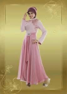 model baju gaun muslimah artis model baju pesta muslimah dari bahan sifon model baju