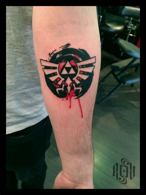 reddit tattoos triforce tribute by acid acid