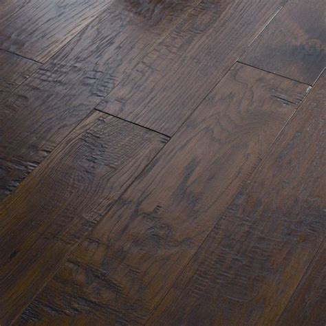 rustic hickory engineered wood flooring gurus floor