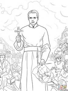 st francis coloring page st francis xavier coloring page free printable coloring