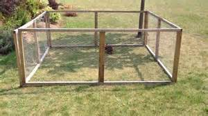 Building Outdoor Rabbit Hutch Canadian Outdoor Easy To Build Rabbit Run Youtube