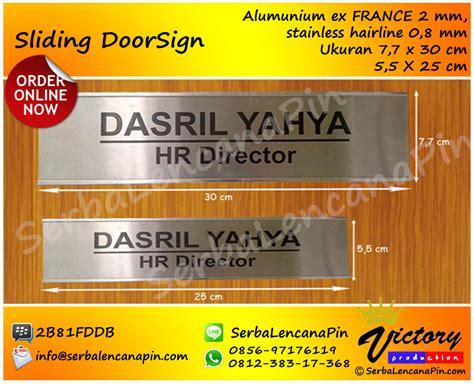 papan cashier supplier papan nama ruangan yang bisa digeser 0812 383 17368