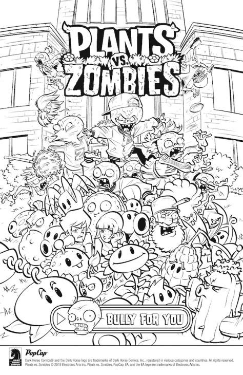 plants vs zombie coloring page jay s birthday party free online plants vs zombies coloring page fun coloring