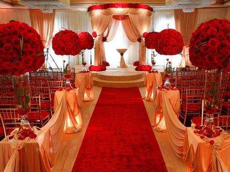 imagenes bodas en blanco y rojo decoraci 243 n en rojo para tu boda ceremonia nupcial con