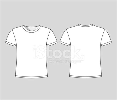 Men S White Short Sleeve T Shirt Design Templates Stock Vector Freeimages Com Sleeve T Shirt Template