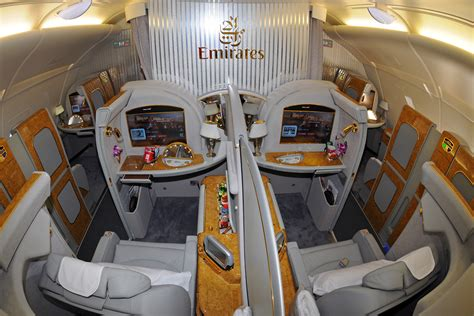 emirates first class a380 first class private suites are available on all emirates