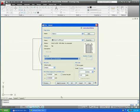 tutorial autocad 2010 lengkap pdf converting autocad to pdf mov youtube