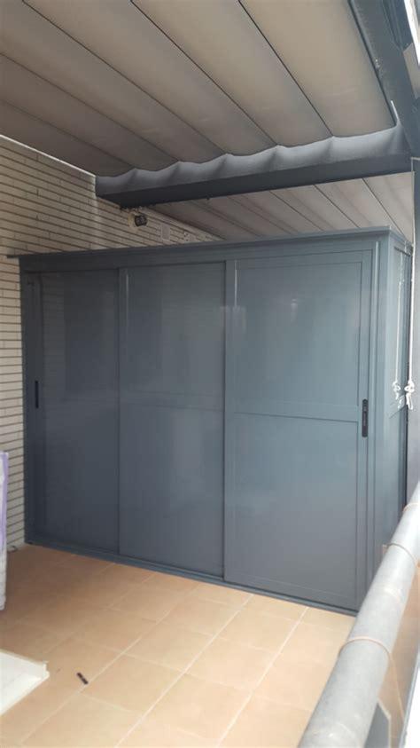 armario para terraza exterior armario de aluminio exterior ideas armarios