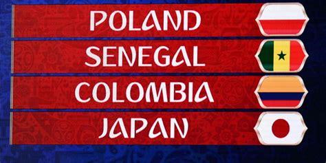 grupo de la selecci 243 n colombia en el mundial rusia 2018