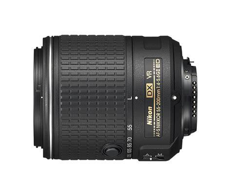 Nikon Af S 55 200mm F 4 5 6g Ed Dx af s dx nikkor 55 200mm f 4 5 6g ed vr ii objetiva