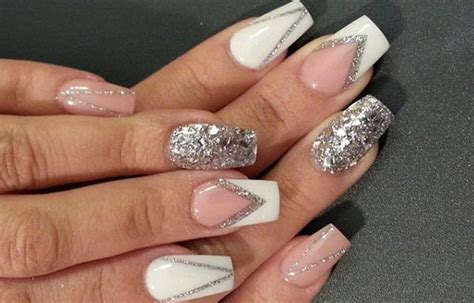imagenes de uñas acrilicas con glitter dise 241 os de u 241 as con escarcha u 241 asdecoradas club