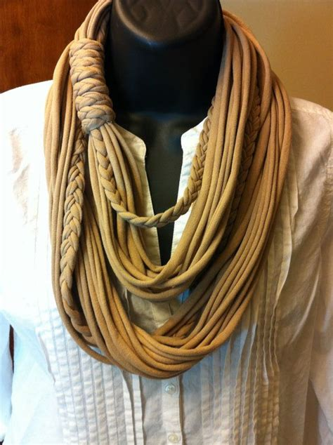 t shirt infinity scarf pattern tshirt scarf infinity scarf multi stranded scarf