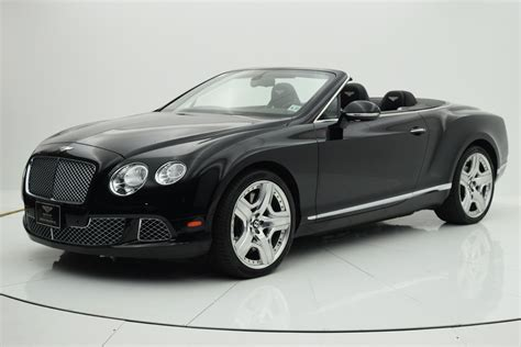 2013 bentley continental gt w12 convertible
