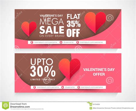 s day website sale header or banner set with discount offer for happy