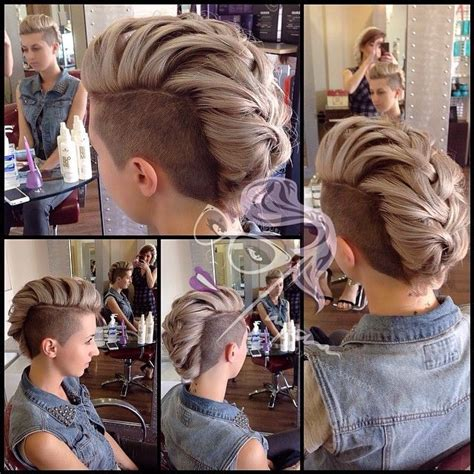 growing out a mohawk 1000 ideas about growing out undercut on pinterest