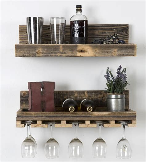 25 best ideas about bar shelves on industrial