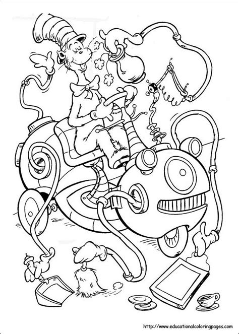 10 dr seuss coloring pages coloring pages for kids