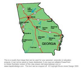 Ga State Map by Pics Photos Georgia State Map Capital Atlanta Macon
