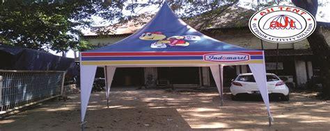 Tenda Besi jual tenda kerucut kerangka besi harga murah jakarta oleh aji tent